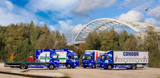 Elektrische vrachtauto's maken binnenstad schoner